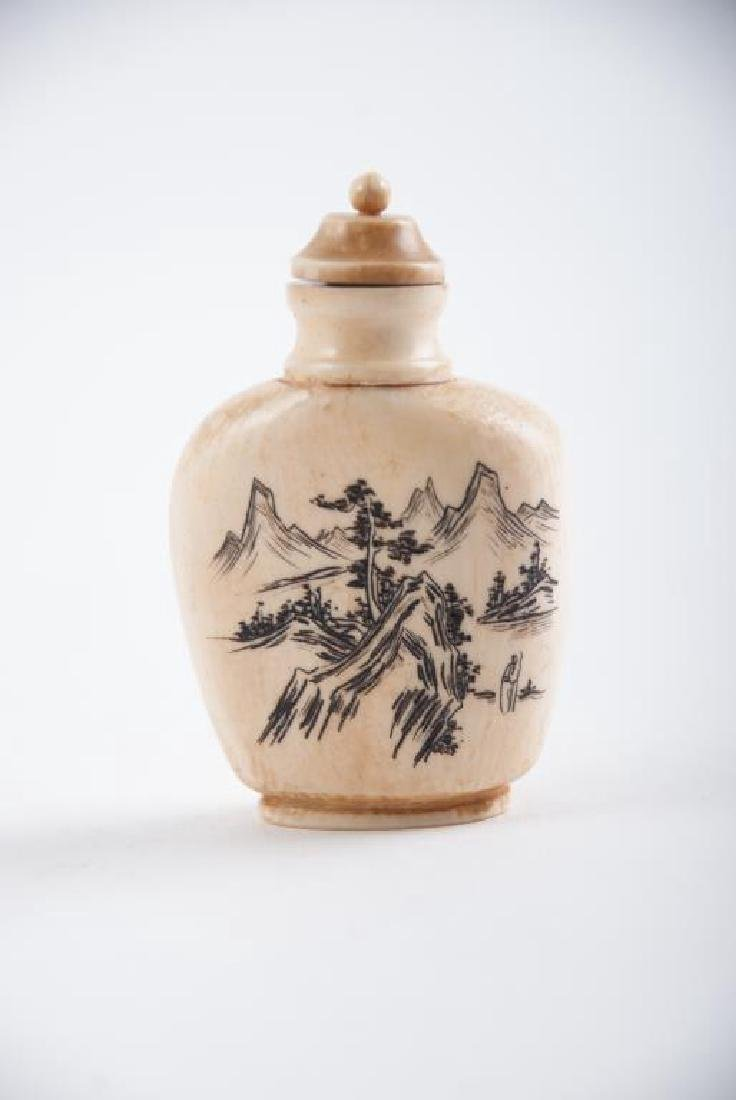 (3) CHINESE SNUFF BOTTLES - 3