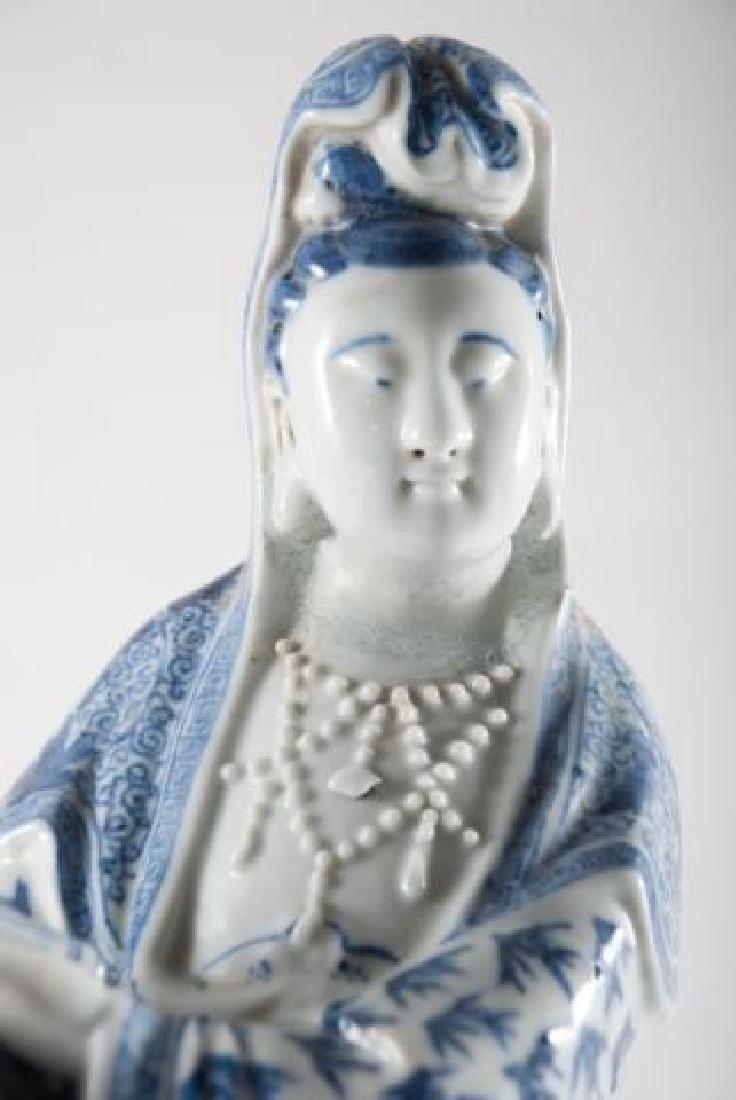 (19th c) CHINESE KANNON KWAN-GUAN YIN GODDESS - 6