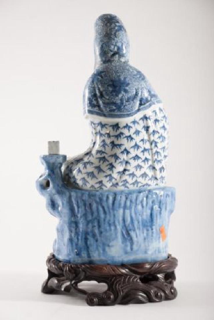 (19th c) CHINESE KANNON KWAN-GUAN YIN GODDESS - 9
