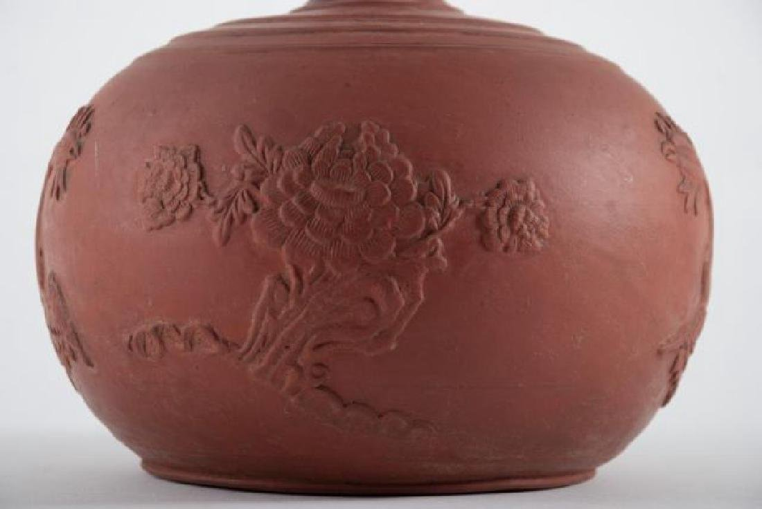 (Early 20th c) CHINESE CLAY DECANTOR - 5