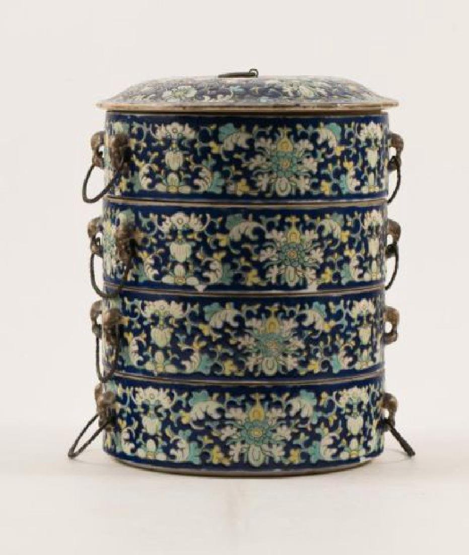 ASIAN PORCELAIN SWEET MEAT CONTAINER