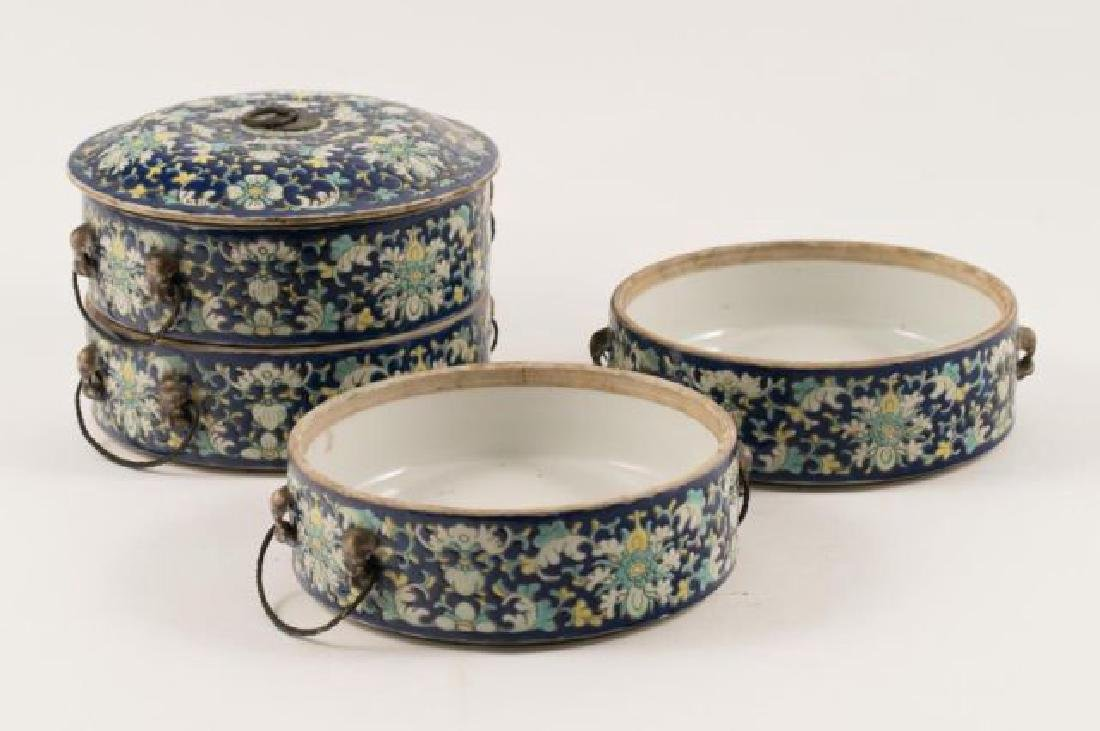 ASIAN PORCELAIN SWEET MEAT CONTAINER - 4