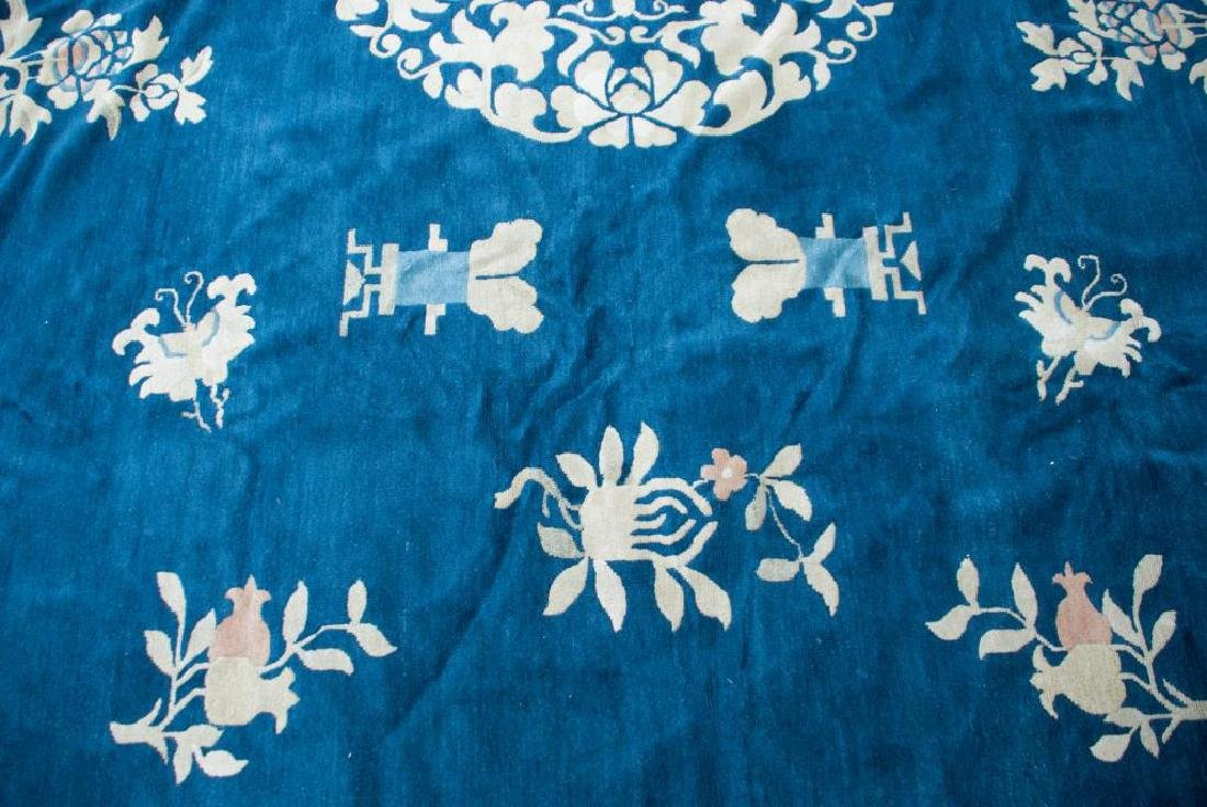 EARLY (20th)c ANTIQUE PEKING CHINESE CARPET - 2
