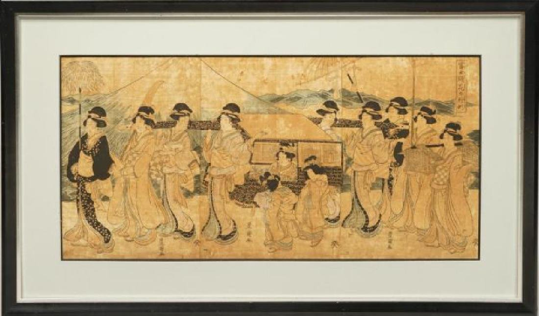 TOYOKUNI JAPANESE WOODBLOCK PRINT