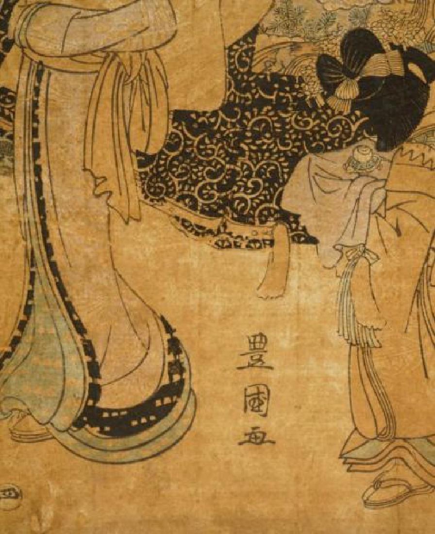 TOYOKUNI JAPANESE WOODBLOCK PRINT - 2