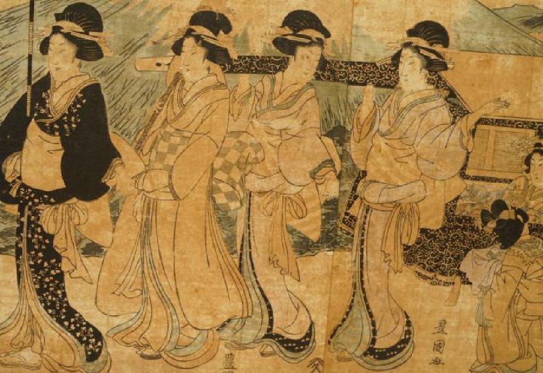 TOYOKUNI JAPANESE WOODBLOCK PRINT - 6