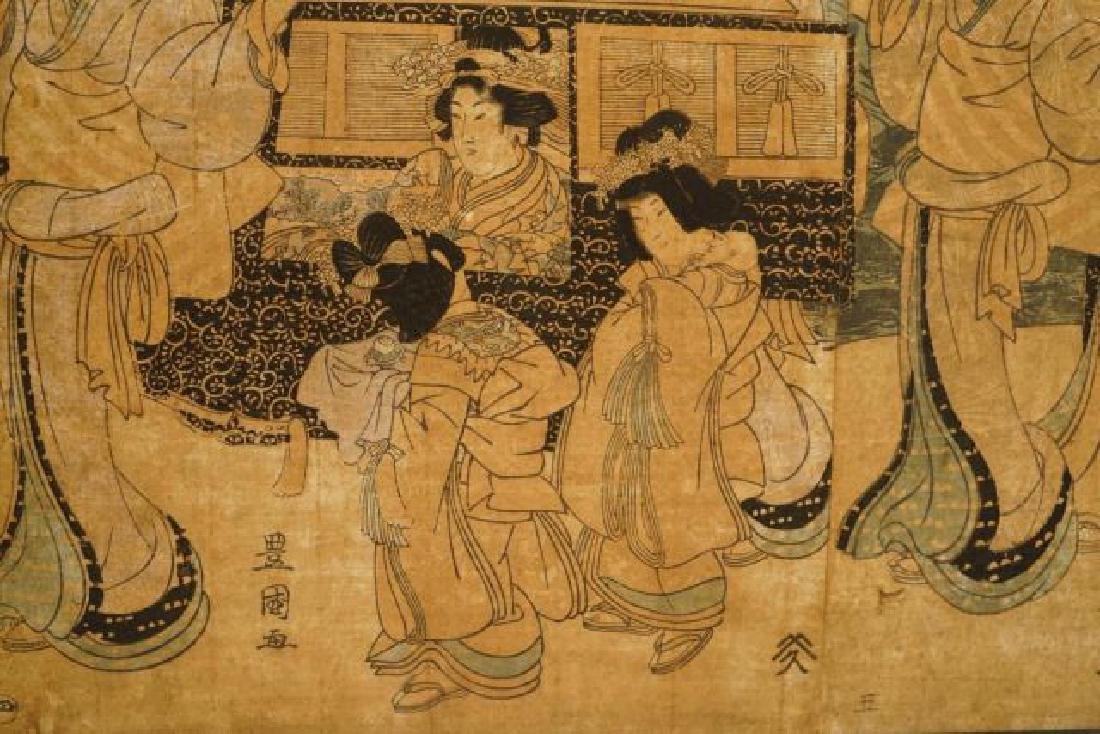 TOYOKUNI JAPANESE WOODBLOCK PRINT - 7