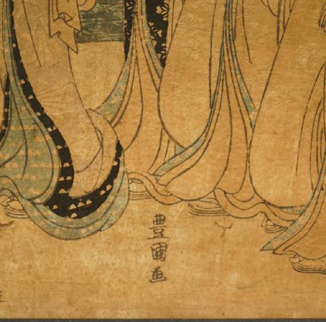 TOYOKUNI JAPANESE WOODBLOCK PRINT - 9