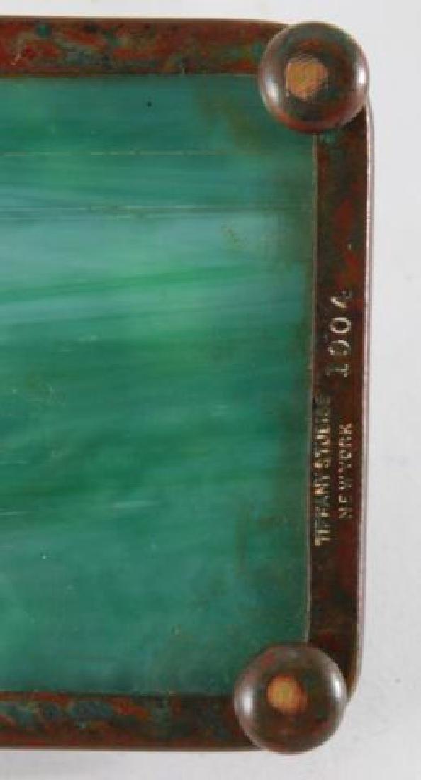 (4) PIECE TIFFANY STUDIOS GRAPEVINE DESK SET - 10