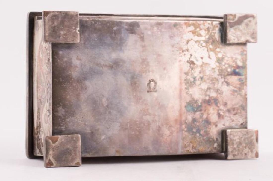 LOS CASTILLOS HANDWROUGHT MIXED METAL BOX - 2