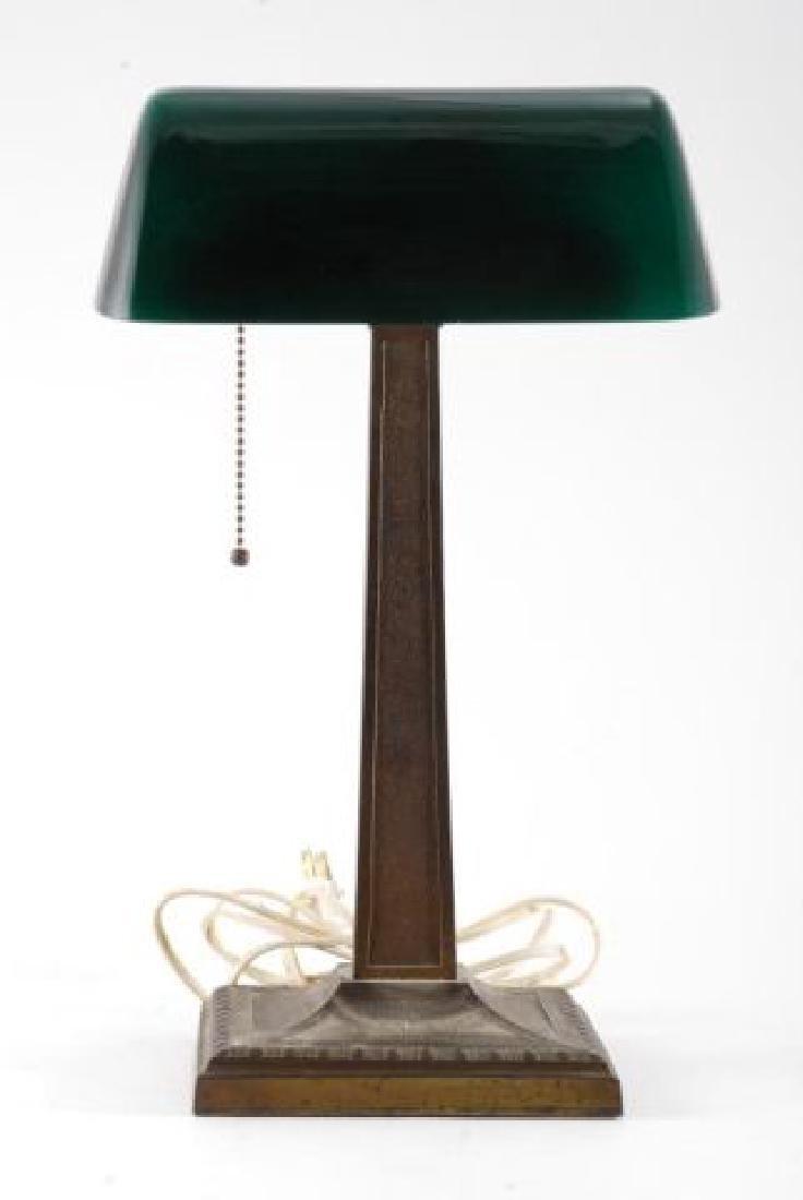 EMERLITE CASED GLASS STUDENTS LAMP