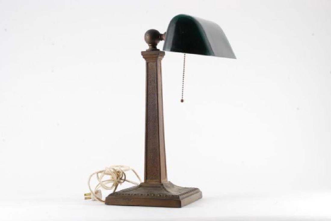 EMERLITE CASED GLASS STUDENTS LAMP - 5