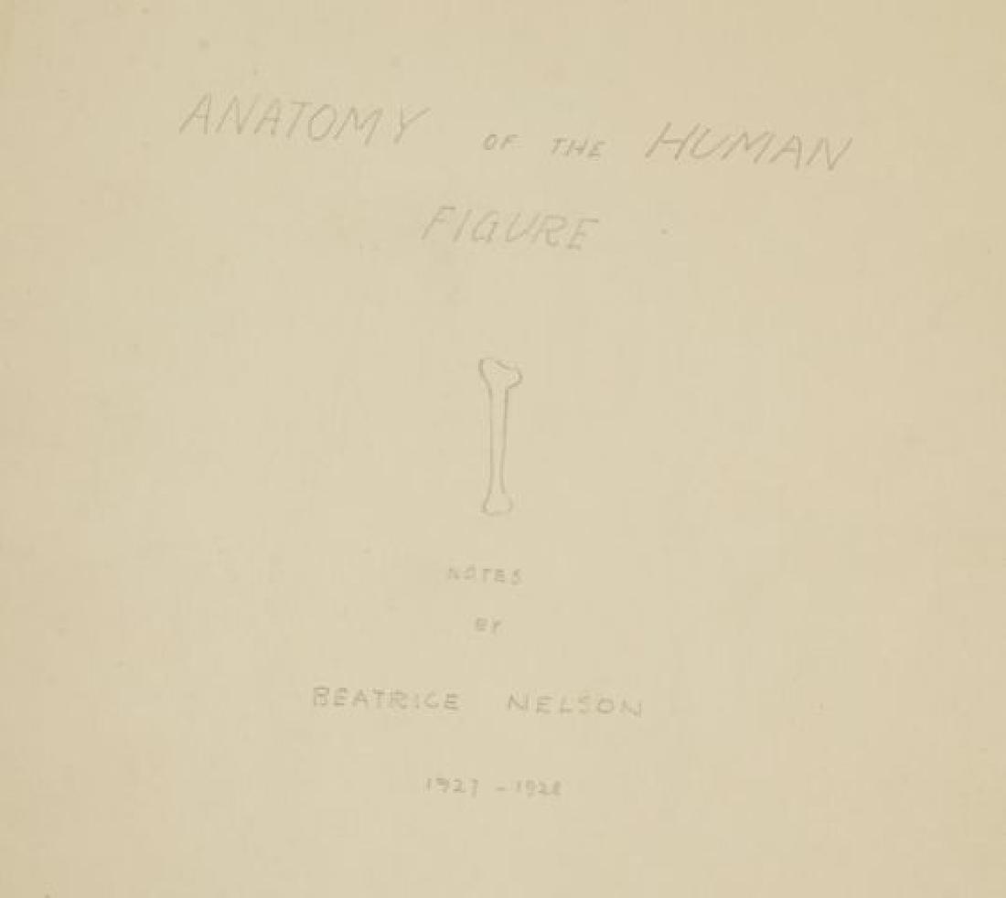 BEATRICE NELSON (Mid 20th c) PORTFOLIO OF ART - 4
