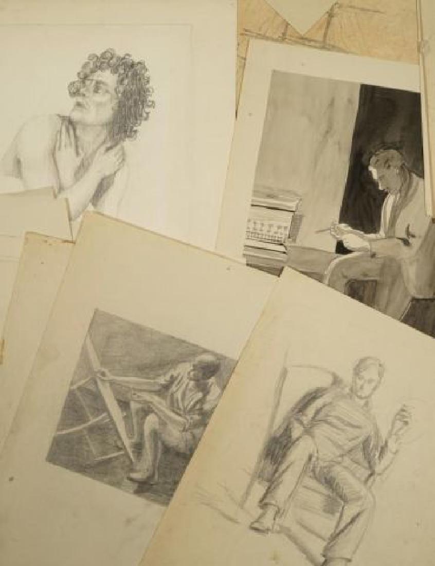 BEATRICE NELSON (Mid 20th c) PORTFOLIO OF ART - 5