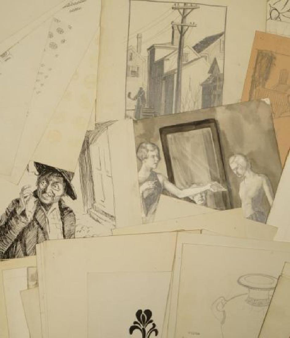 BEATRICE NELSON (Mid 20th c) PORTFOLIO OF ART - 6