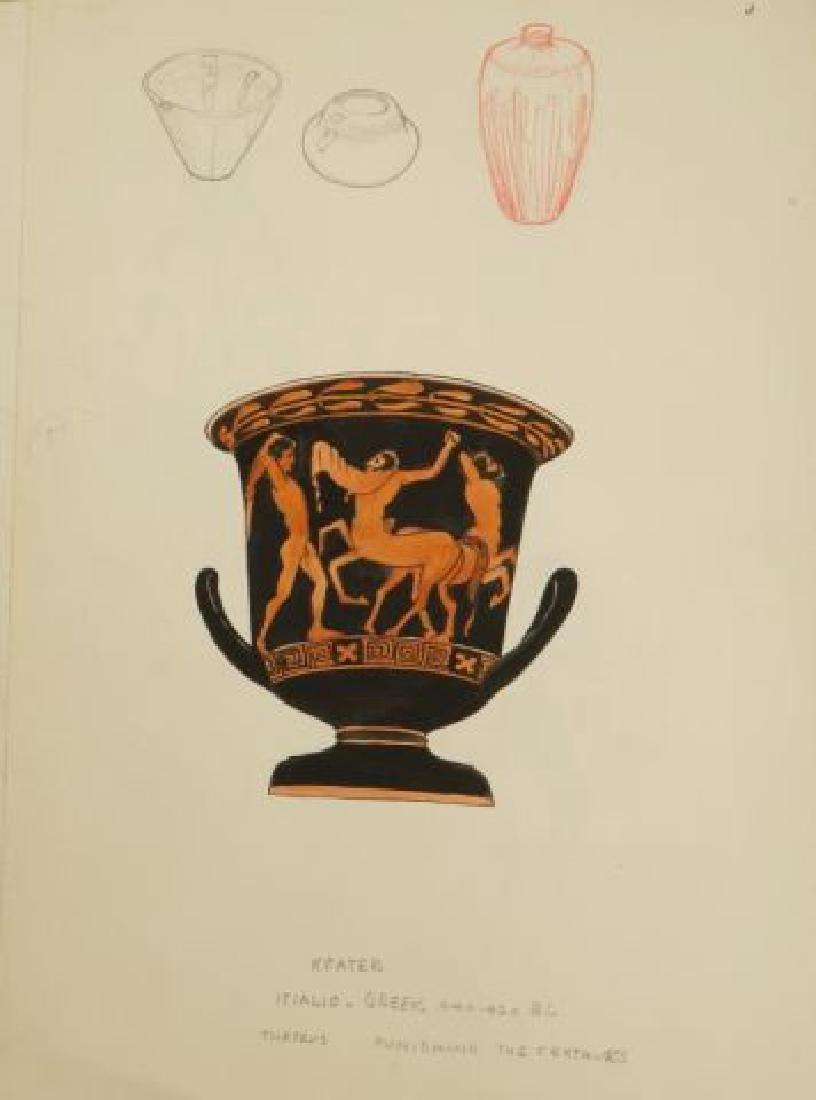 BEATRICE NELSON (Mid 20th c) PORTFOLIO OF ART - 7