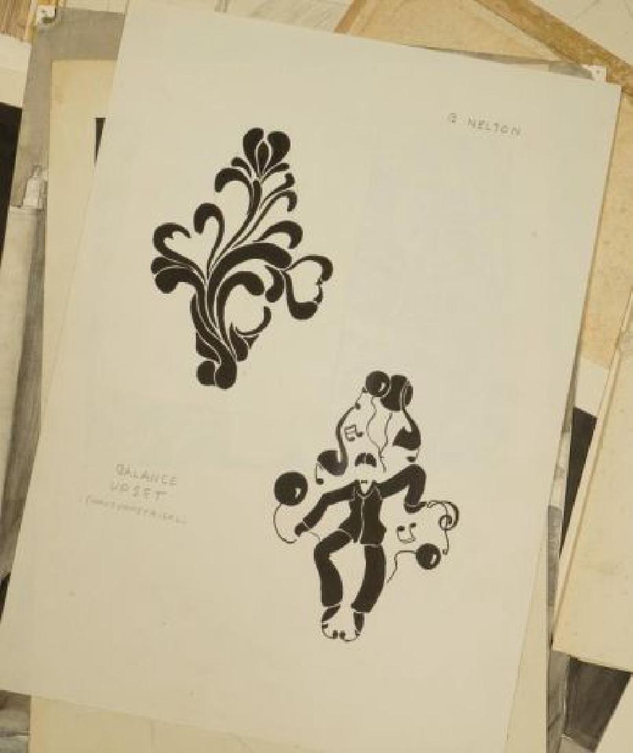 BEATRICE NELSON (Mid 20th c) PORTFOLIO OF ART - 8