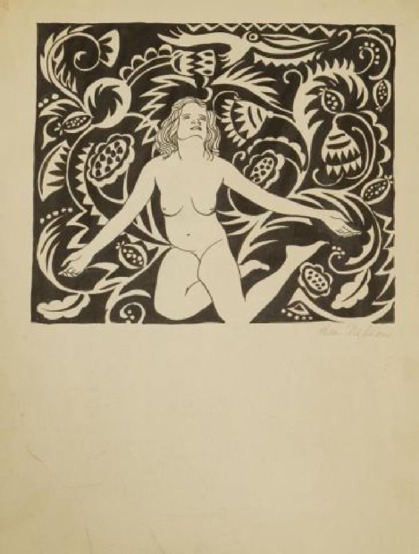 BEATRICE NELSON (Mid 20th c) PORTFOLIO OF ART - 9