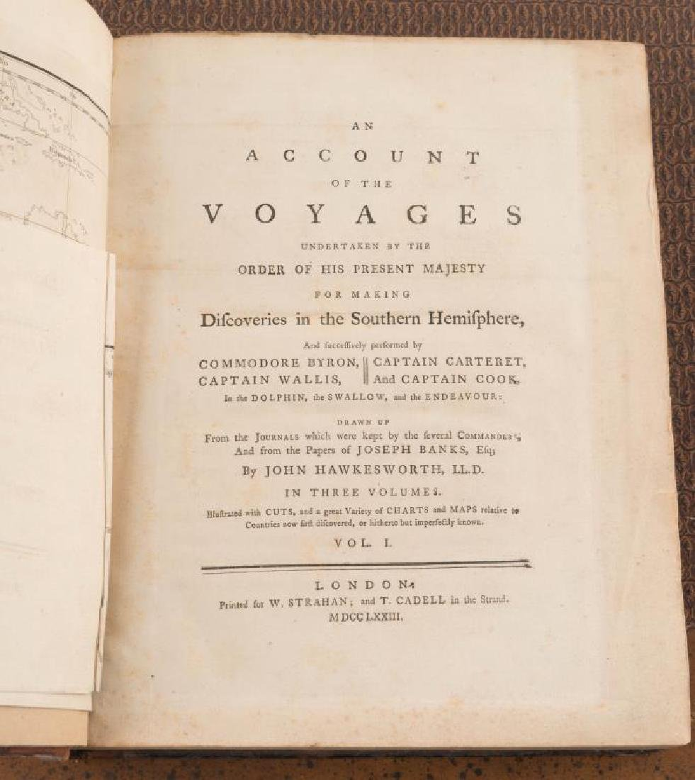 "(VIII) VOLUMES ""COOK'S VOYAGES"" and PORTFOLIO 17 - 2"