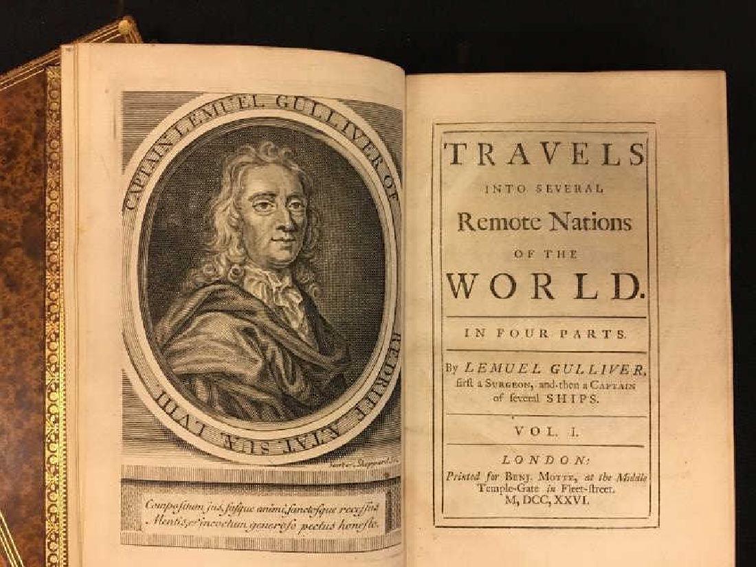 GULLIVER'S TRAVELS by JONATHAN SWIFT VOL I & II - 4