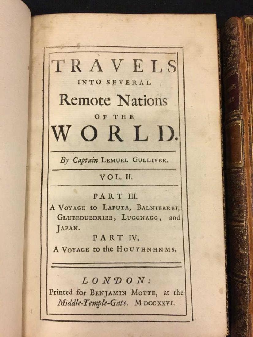 GULLIVER'S TRAVELS by JONATHAN SWIFT VOL I & II - 5