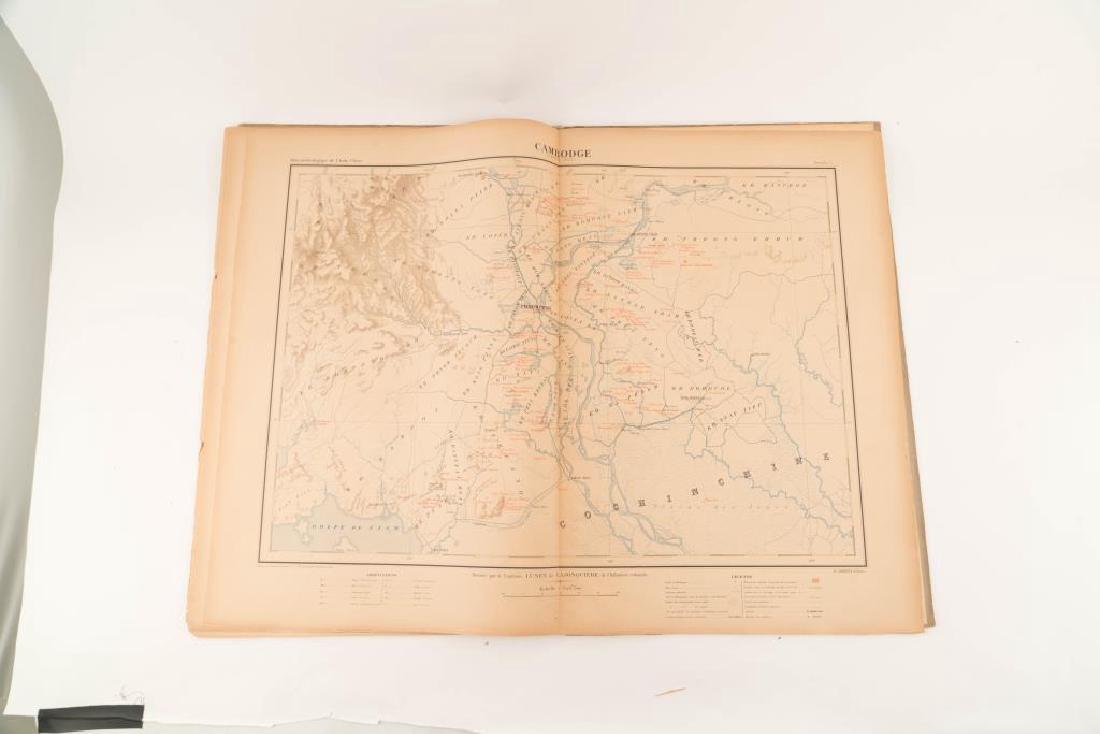 1901 ATLAS ARCHEOLOGIQUE de L'INDO-CHINE - 3