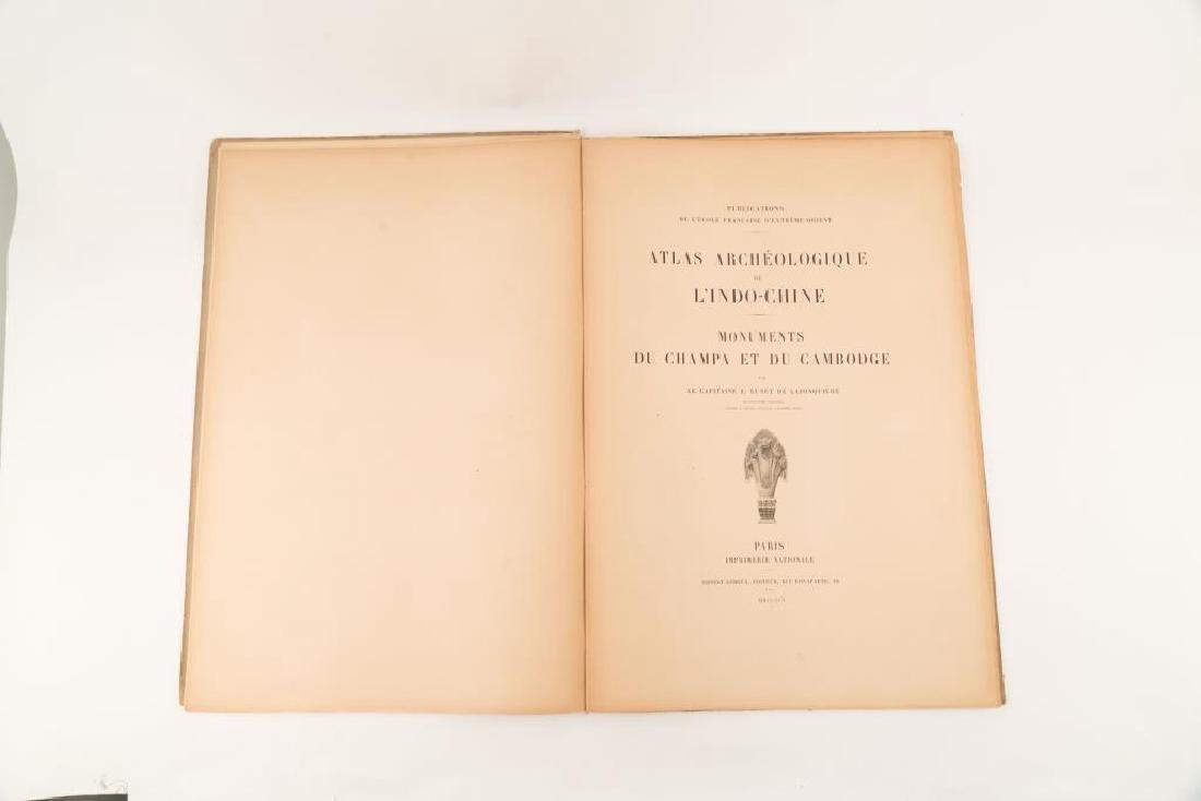 1901 ATLAS ARCHEOLOGIQUE de L'INDO-CHINE - 4