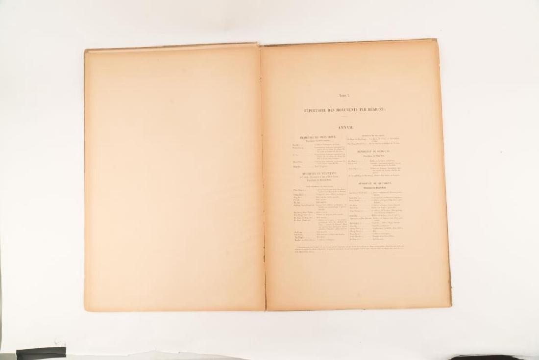 1901 ATLAS ARCHEOLOGIQUE de L'INDO-CHINE - 5