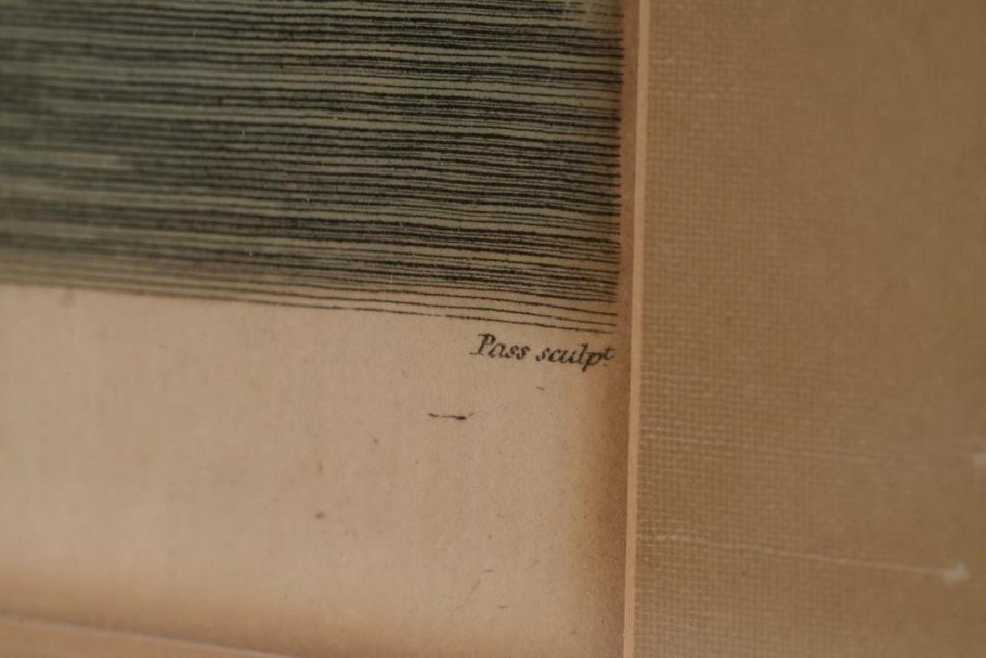 PAIR OF (18th c) J. WILKES COPPER ENGRAVED PRINTS - 2