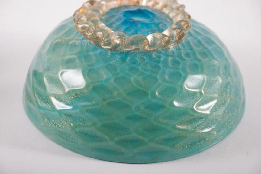 COLLECTION OF VINTAGE DECORATIVE GLASS  ITEMS - 4