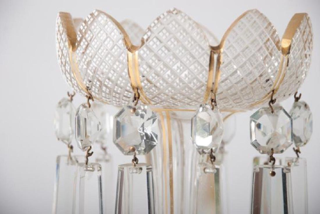 COLLECTION OF VINTAGE DECORATIVE GLASS  ITEMS - 6