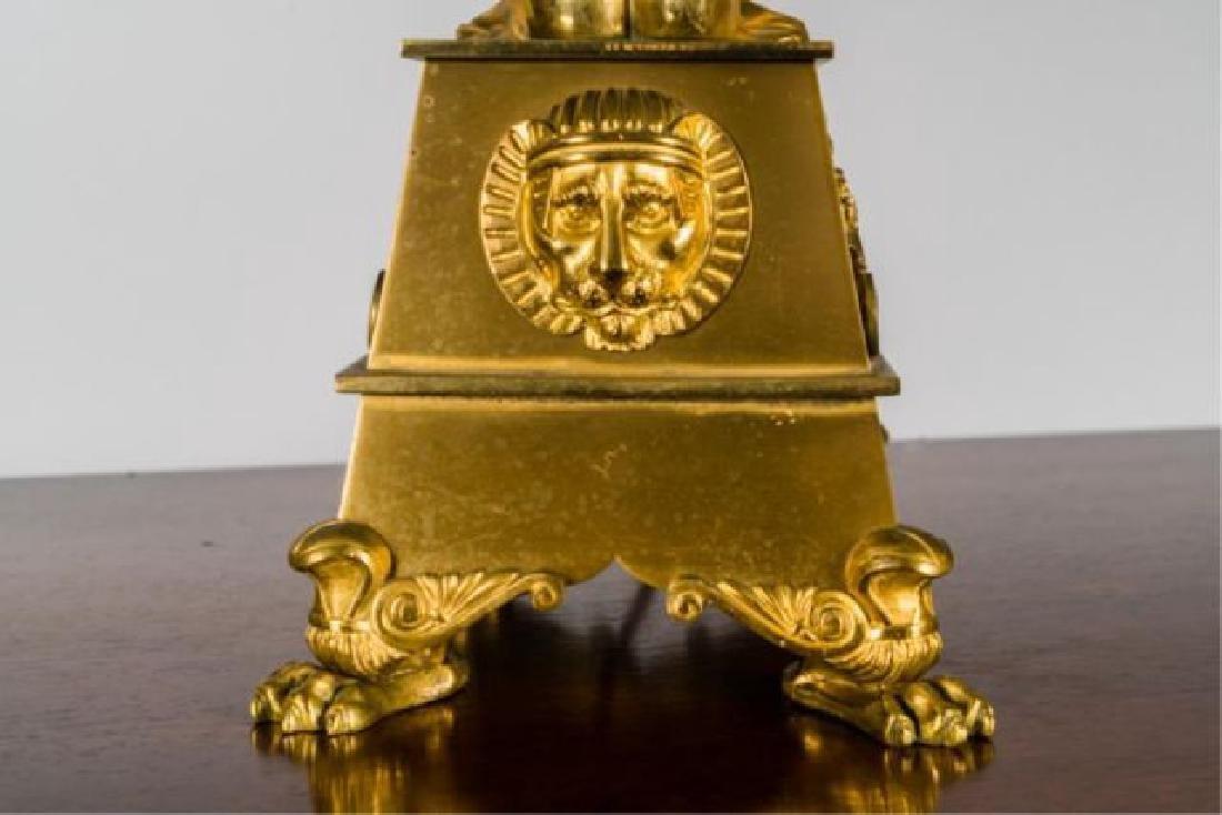 PAIR OF JOHNSTON & BROOKS EGYPTIAN REVIVAL LAMPS - 3