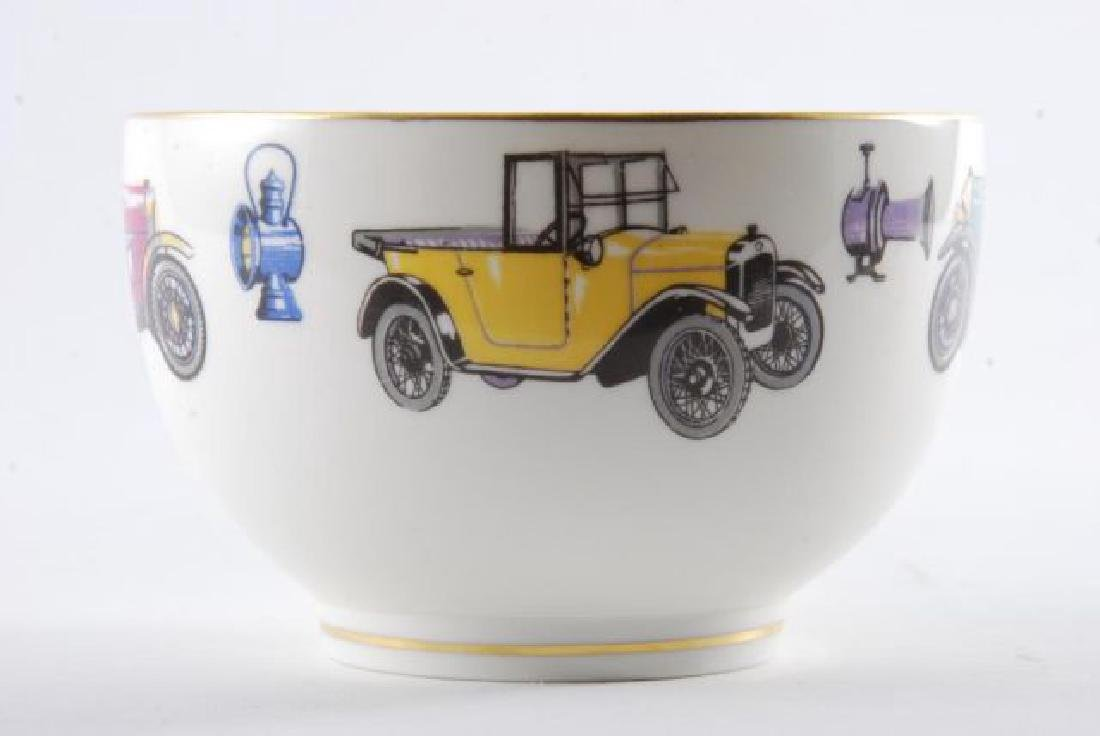ROYAL WORCESTER OVERSIZED CLASSIC CAR CUP & SAUCER - 9