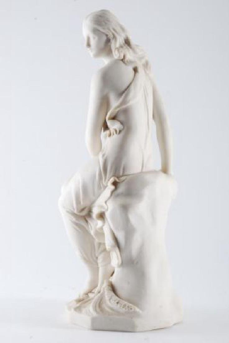 PARIAN WOMAN by the SHORE with WAVES & SHELL - 7