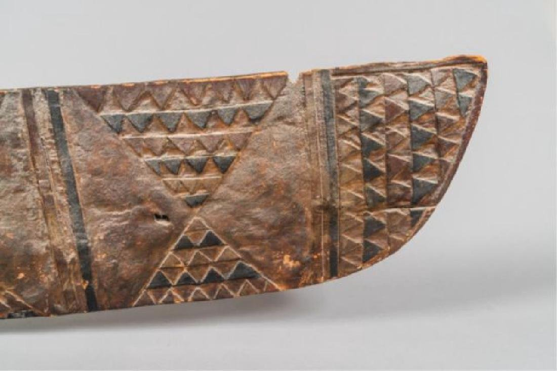 "ANTIQUE AFRICAN BWA ""HAWK"" MASK - 8"