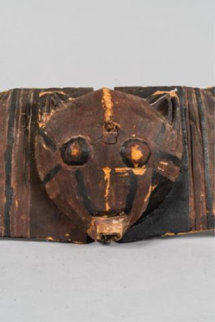 "ANTIQUE AFRICAN BWA ""HAWK"" MASK - 9"