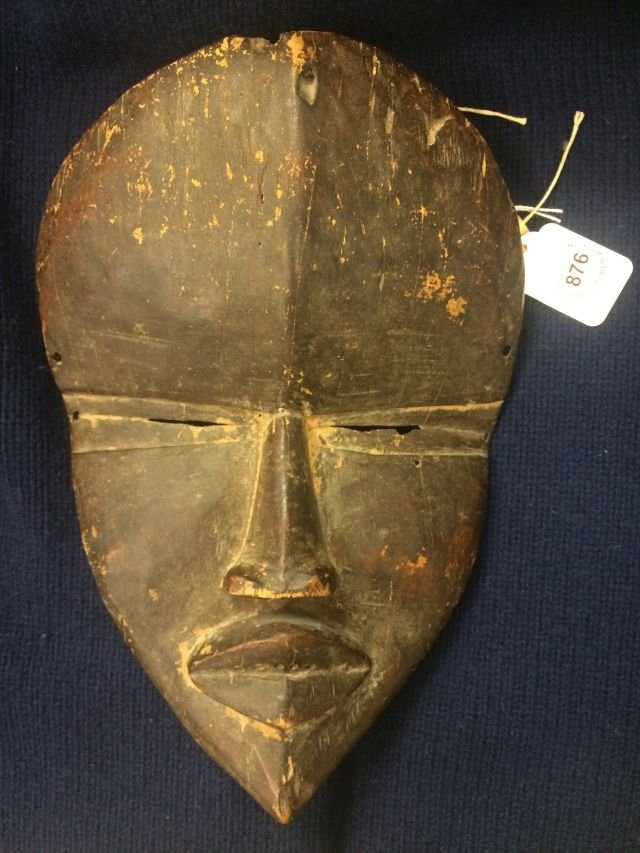 ANTIQUE AFRICAN MASK OF THE DAN / LIBERIA - 10