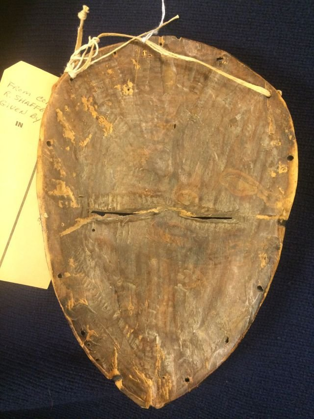 ANTIQUE AFRICAN MASK OF THE DAN / LIBERIA - 9