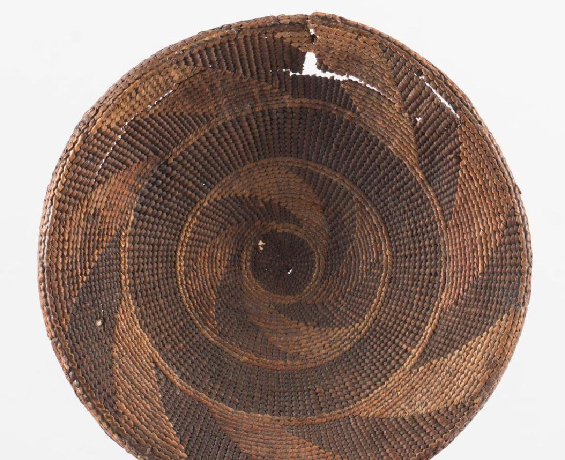 (2) FINELY WOVEN NATIVE AMERICAN COVERED BASKETS - 7