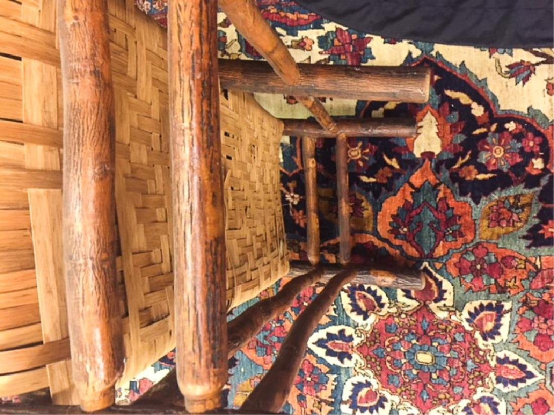 "ADIRONDACK RUSTIC SETTEE POSSIBLY ""OLD HICKORY"" - 8"