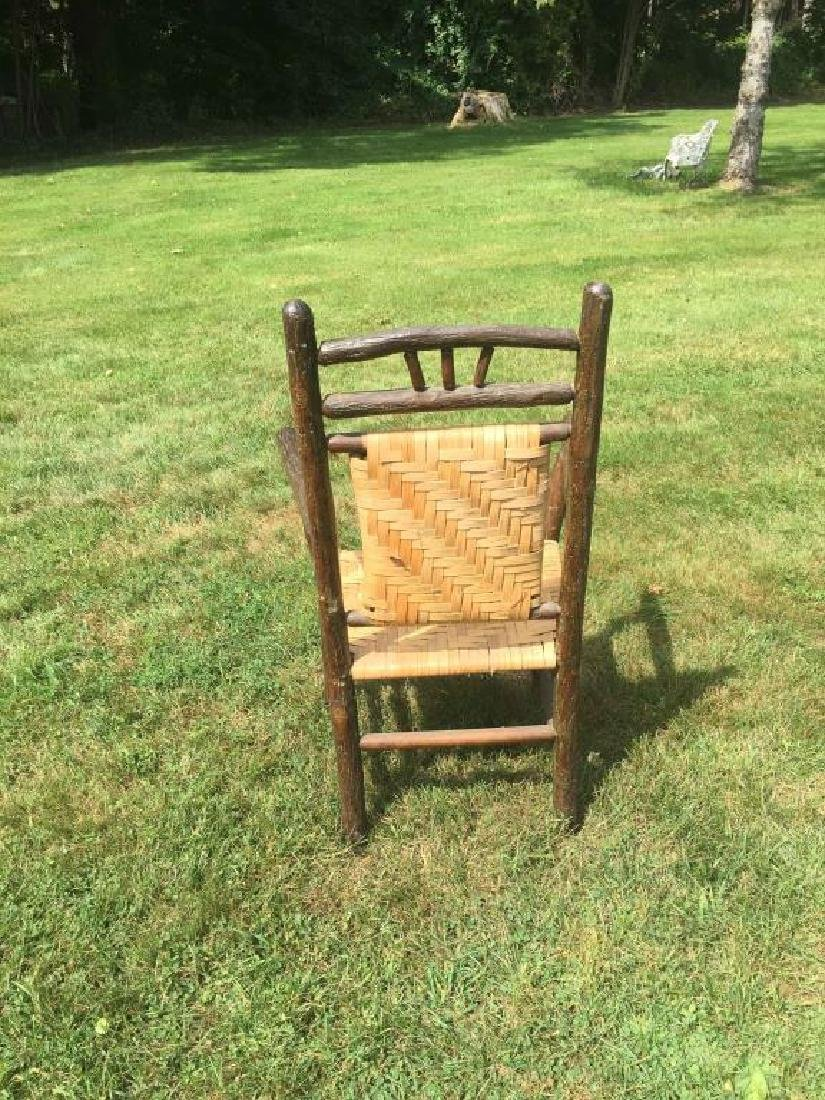 """""""OLD HICKORY """" ADIRONDACK RUSTIC ARM CHAIR - 2"""