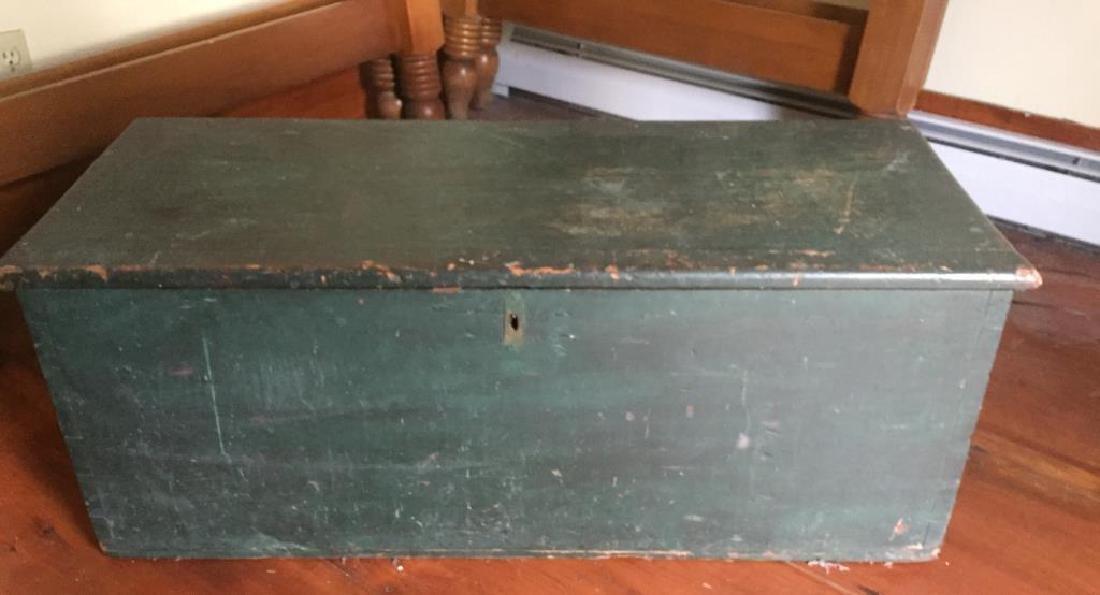 PAINTED SIX BOARD SEA CHEST