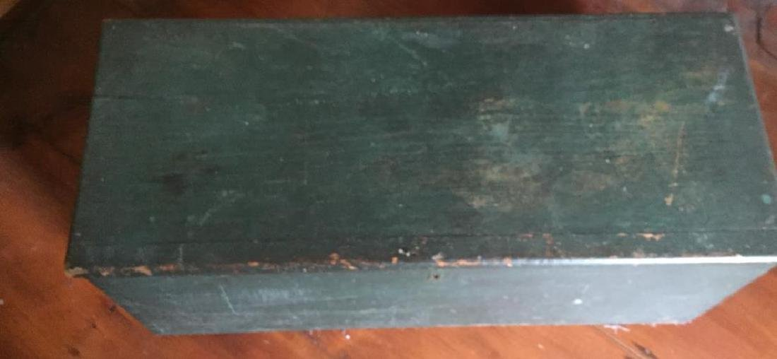 PAINTED SIX BOARD SEA CHEST - 6