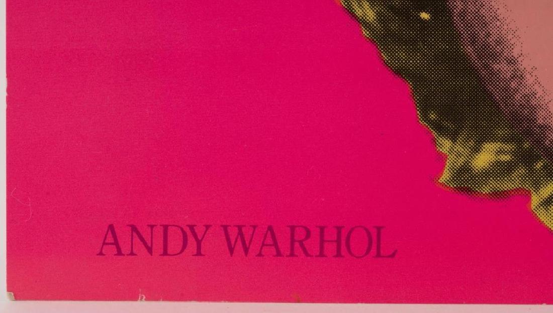 ANDY WARHOL (1928-1987) MARILYN MONROE INVITATION - 5