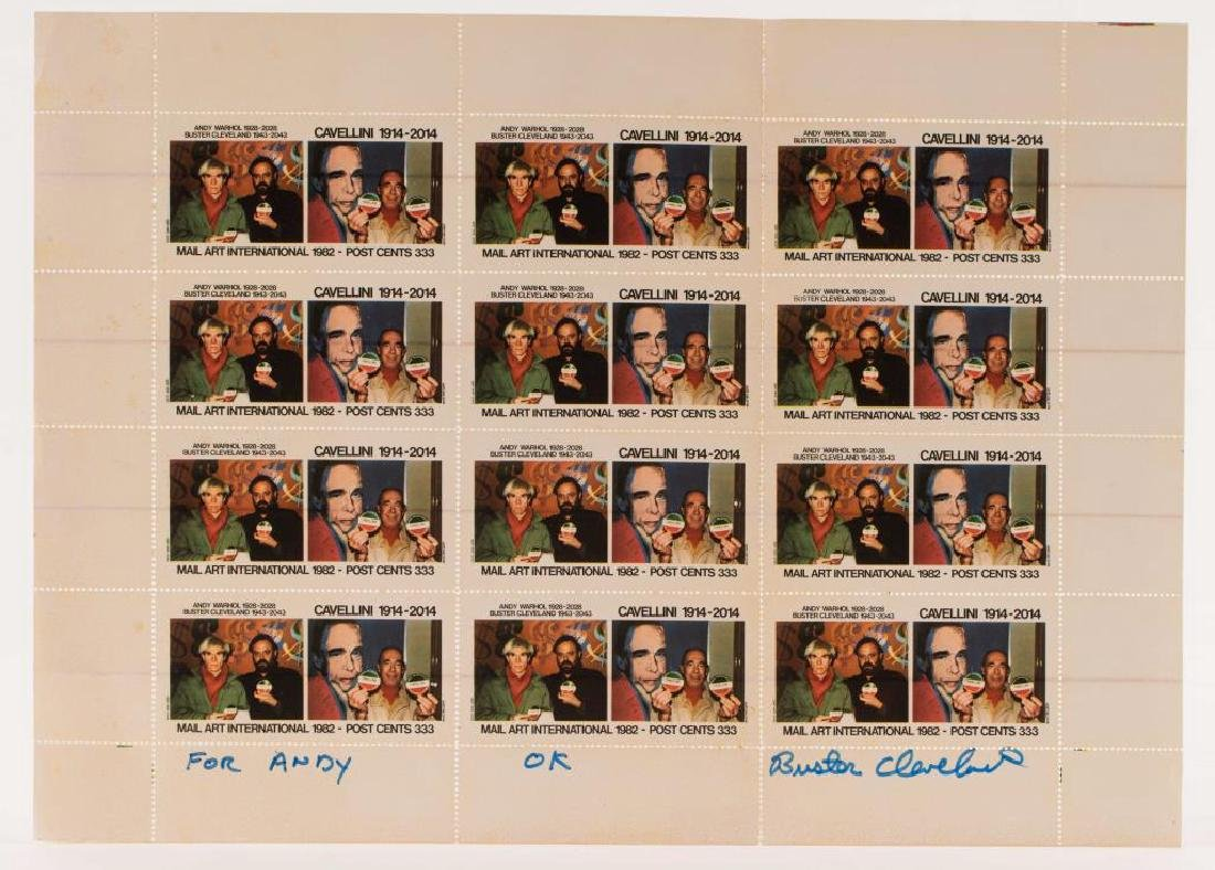 WARHOL / CAVELLINI / CLEVELAND CENTENARIES