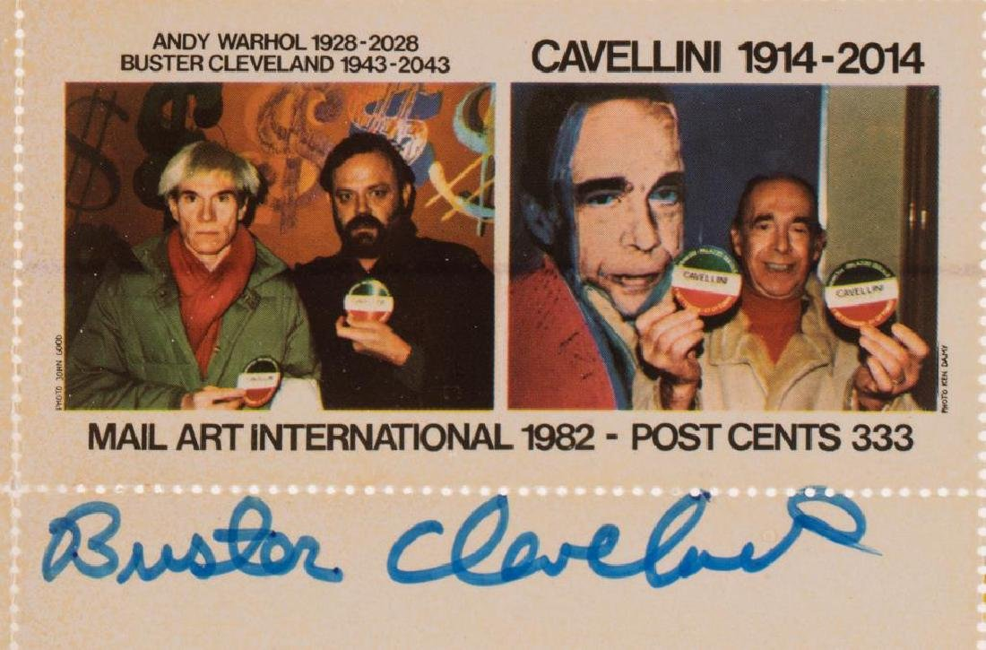 WARHOL / CAVELLINI / CLEVELAND CENTENARIES - 2