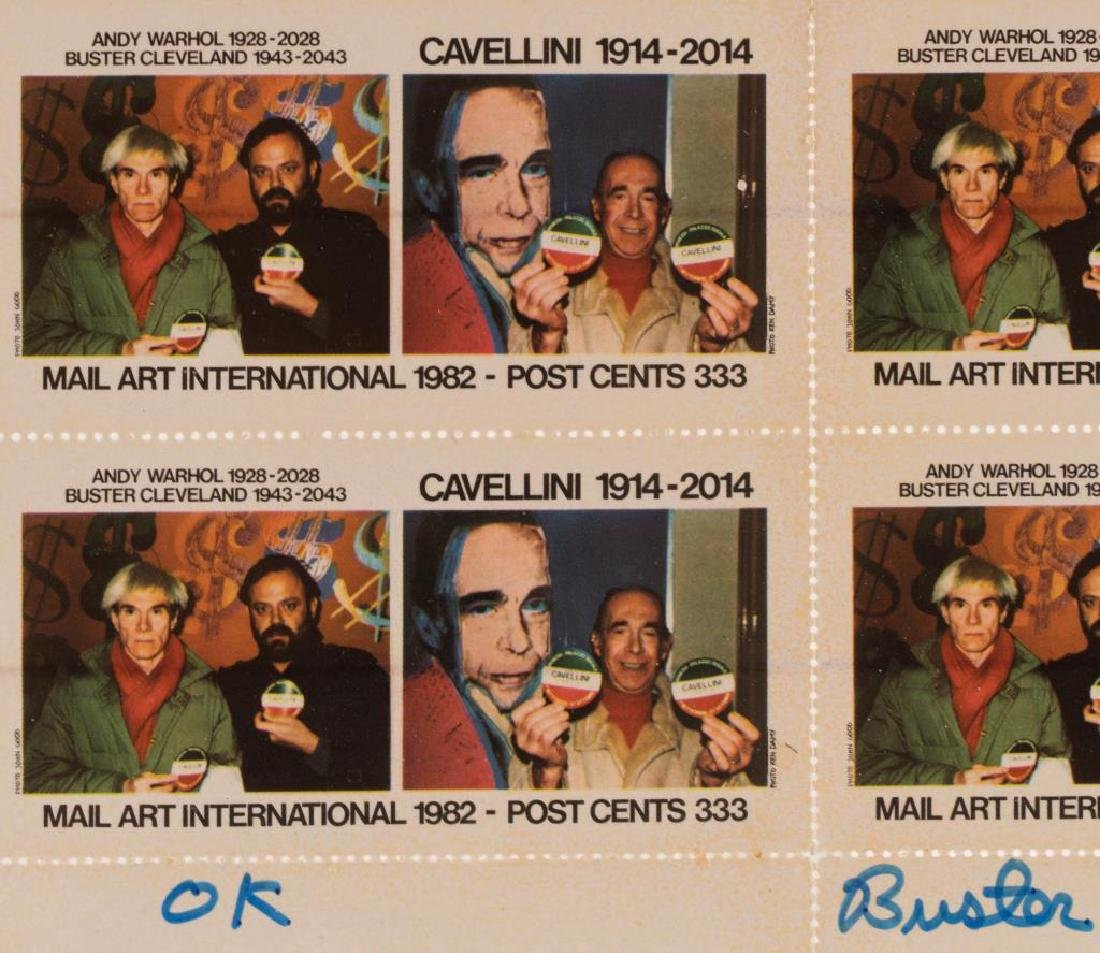 WARHOL / CAVELLINI / CLEVELAND CENTENARIES - 5