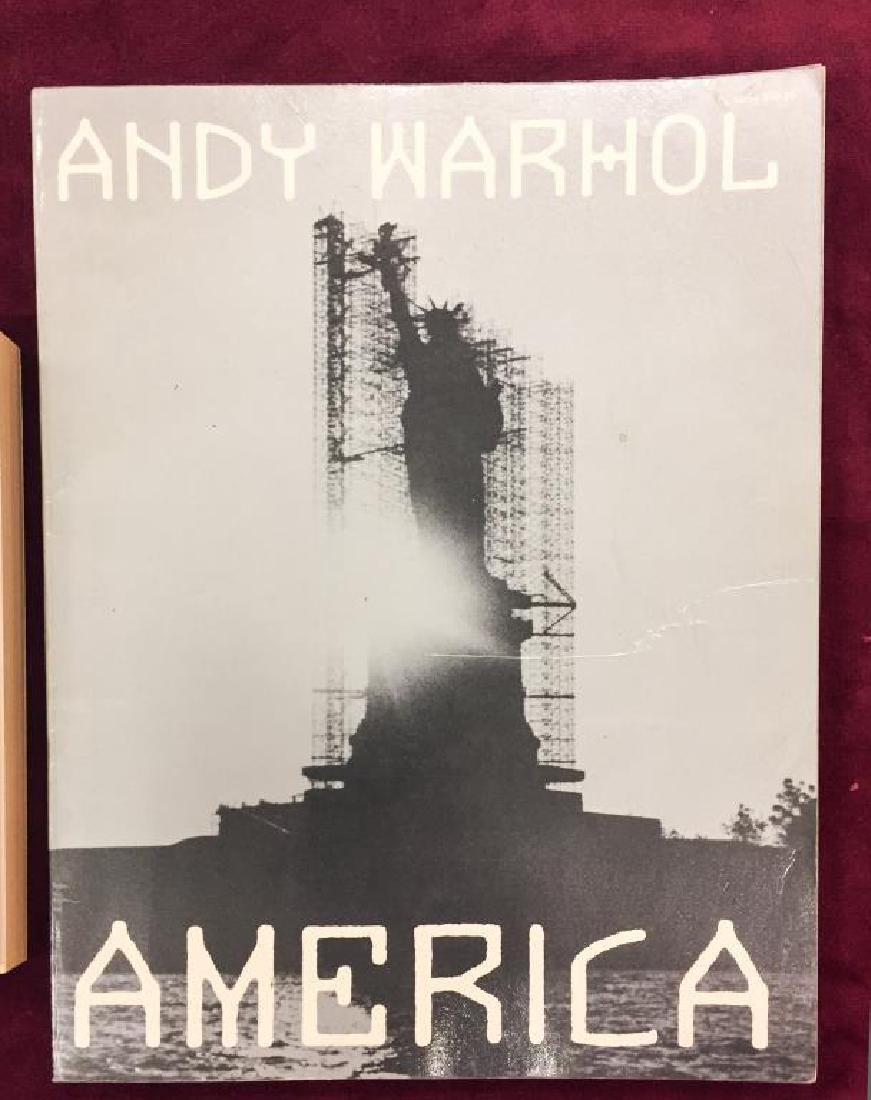 "ANDY WARHOL ""AMERICA"" and ""MI FILOSOFIA"" - 4"