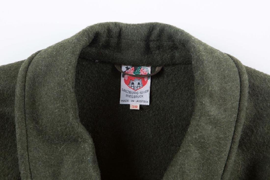 AUSTRIAN LODEN COAT /GIFT TO JON FROM ANDY WARHOL - 3