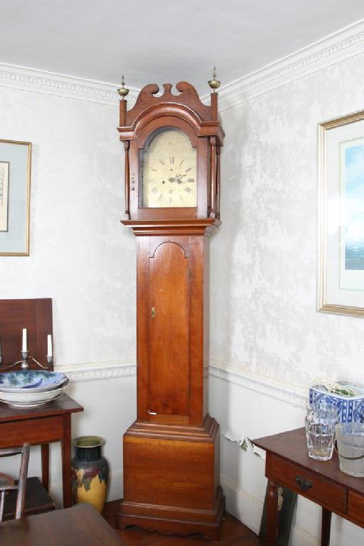 SAMUEL MULLIKEN GRANDFATHER CLOCK